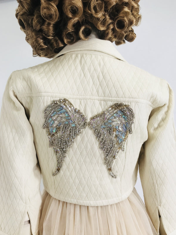 DOLLY by Le Petit Tom ® BOHO angel jacket - DOLLY by Le Petit Tom ®