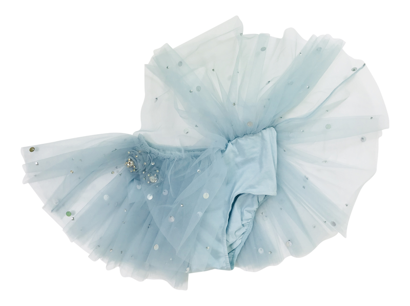DOLLY by Le Petit Tom ® True Ballerina tutu bloomer light blue - DOLLY by Le Petit Tom ®