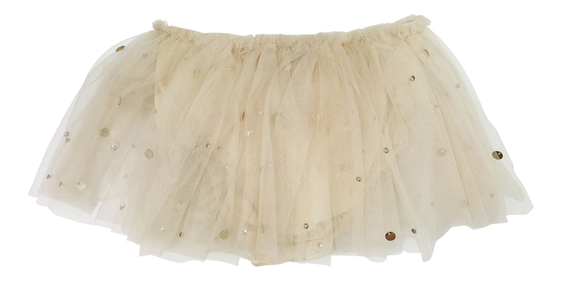 DOLLY by Le Petit Tom ® True Ballerina tutu bloomer coffee - DOLLY by Le Petit Tom ®