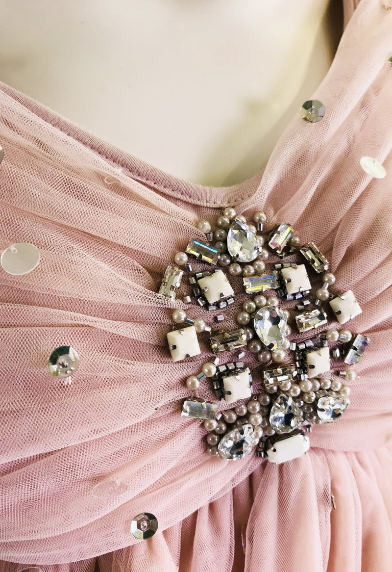 [ OUTLET] DOLLY by Le Petit Tom ® JEWELER'S CRYSTALS Opal Ondine tutu dress