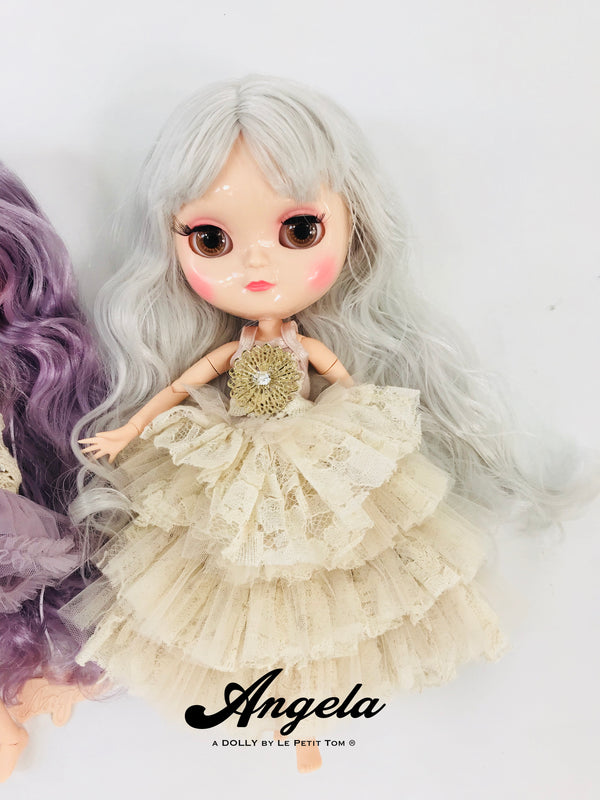 [ OUTLET] ANGELA Doll clothing DOLLY's BOHO FLOWER POWER DRESS