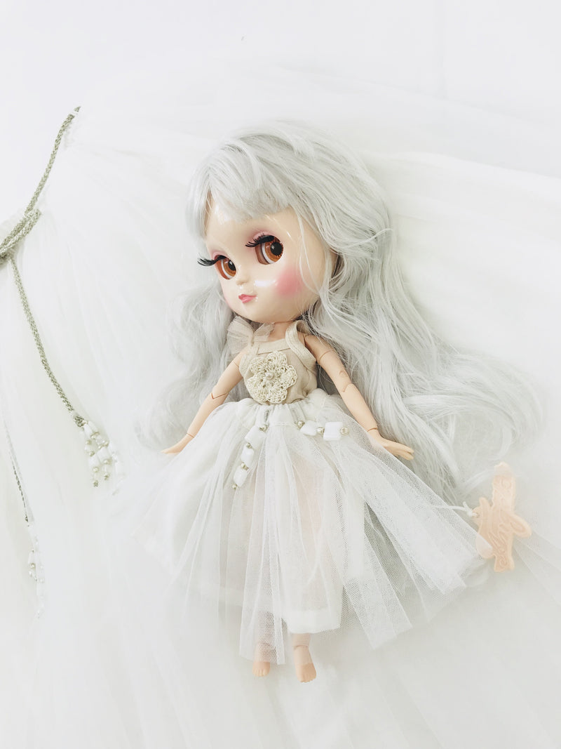 ANGELA Doll WHITE incl. Dolly Fashion & Doll Carrier bag-dolls-DOLLY by Le Petit Tom ®