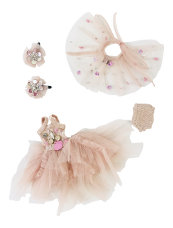 ANGELA Doll clothing DOLLY's FLAMINGO FASHION SET-dolls-DOLLY by Le Petit Tom ®