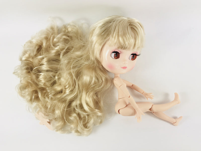 ANGELA Doll BLONDE/ CREAM incl. Dolly Fashion & Doll Carrier bag-dolls-DOLLY by Le Petit Tom ®