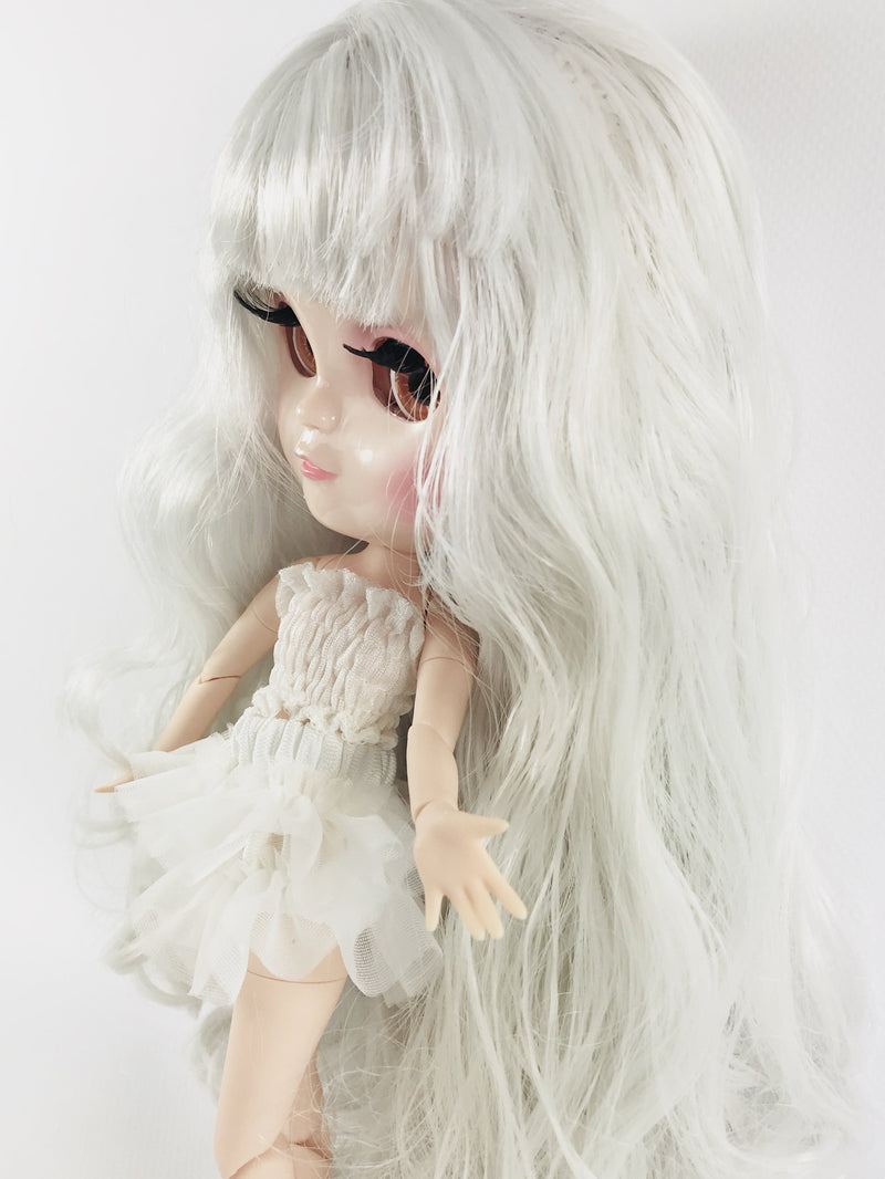 ANGELA Doll WHITE incl. Dolly Fashion & Doll Carrier bag