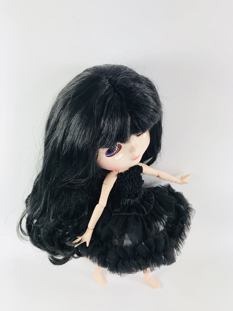 ANGELA Doll BLACK incl. Dolly Fashion & Doll Carrier bag-dolls-DOLLY by Le Petit Tom ®