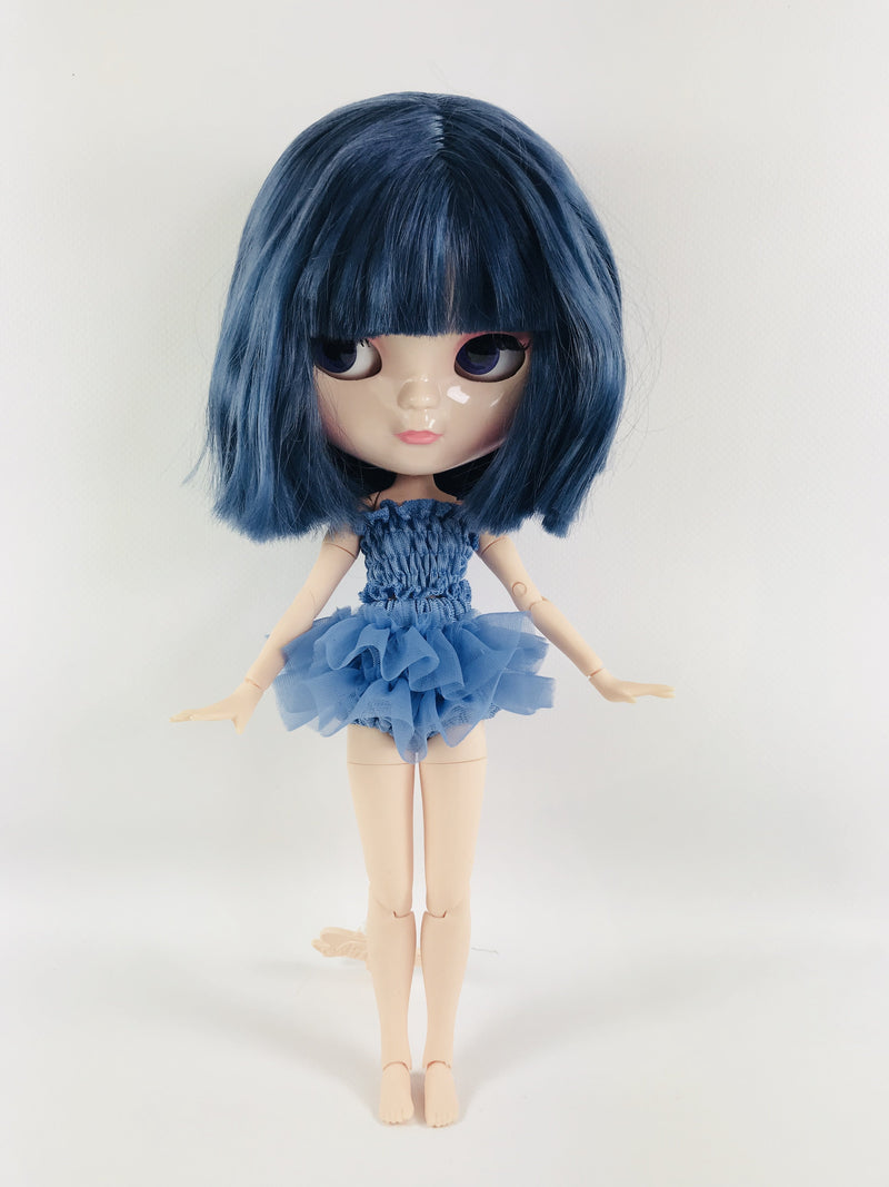 ANGELA Doll MARQUESA BLUE incl. Dolly Fashion & Doll Carrier bag-dolls-DOLLY by Le Petit Tom ®