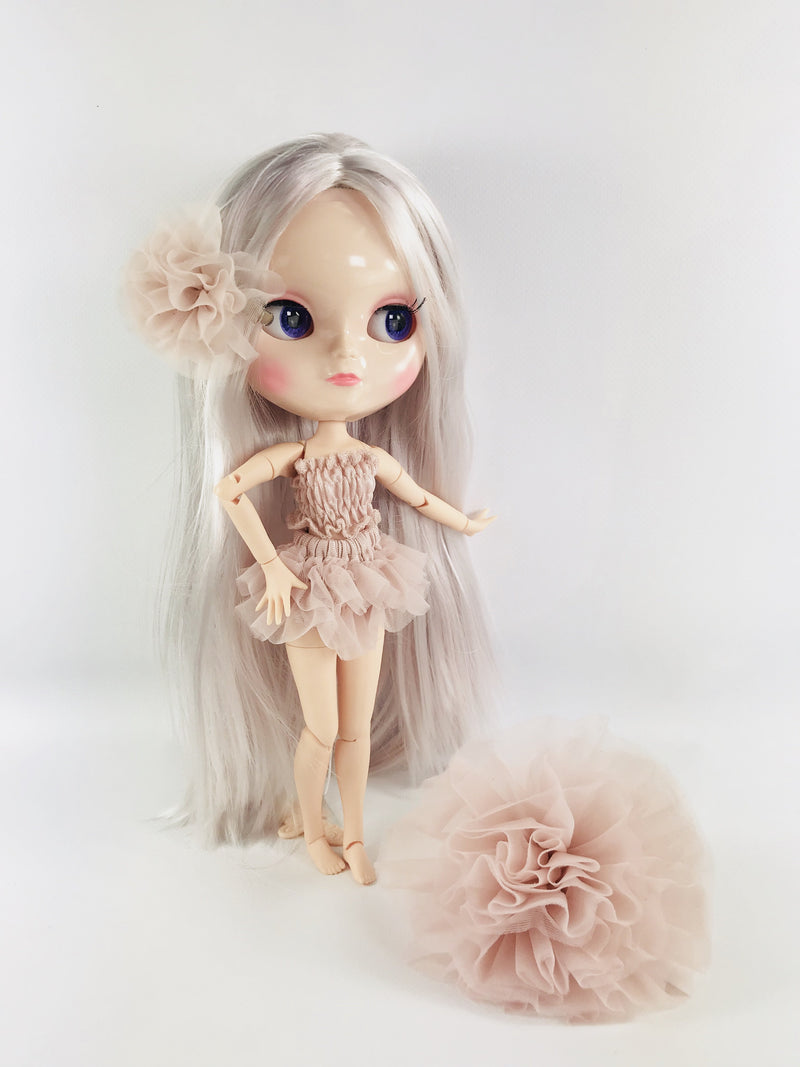 ANGELA Doll BALLET PINK incl. Dolly Fashion & Doll Carrier bag-dolls-DOLLY by Le Petit Tom ®