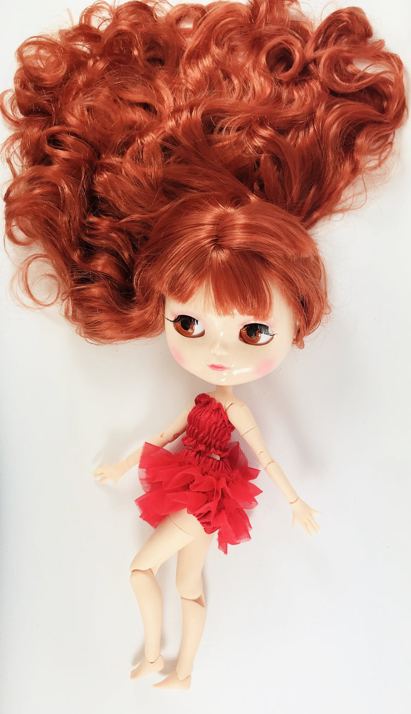 ANGELA Doll RED incl. Dolly Fashion & Doll Carrier bag-dolls-DOLLY by Le Petit Tom ®