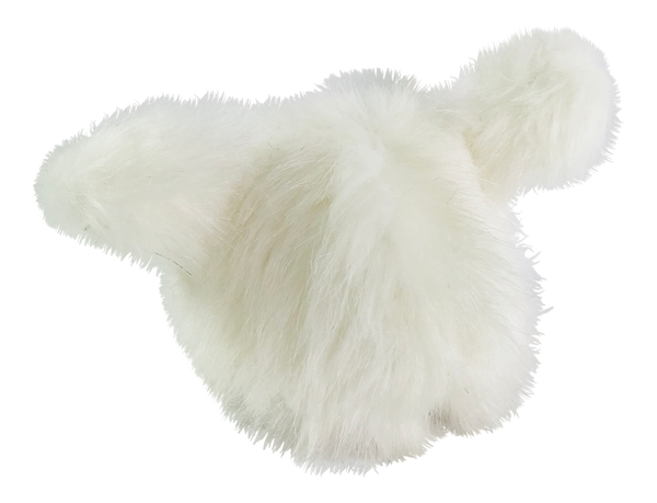 ANGELA Doll clothing DOLLY's FUR HAT WITH EARS ICE BEAR white