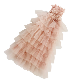 ANGELA Doll clothing DOLLY's RUFFLED DRESS ballet pink