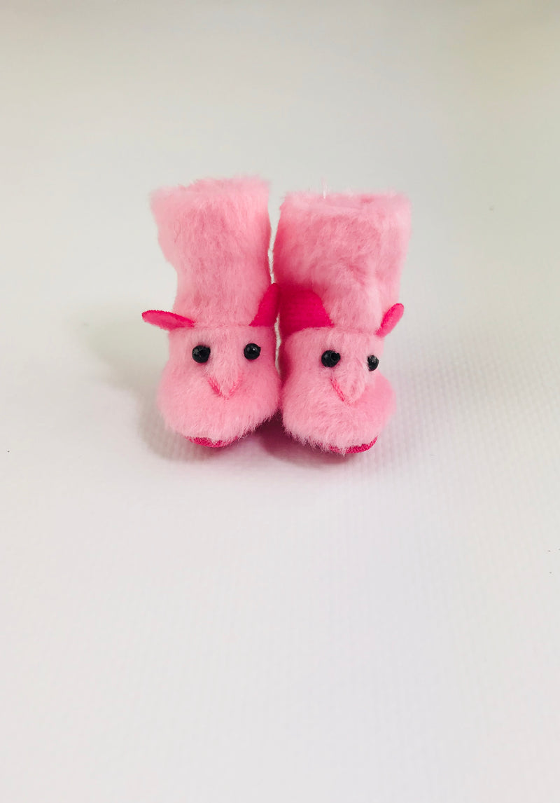 [ OUTLET] ANGELA Doll RABBIT PLUSH FELT BOOT  more colors