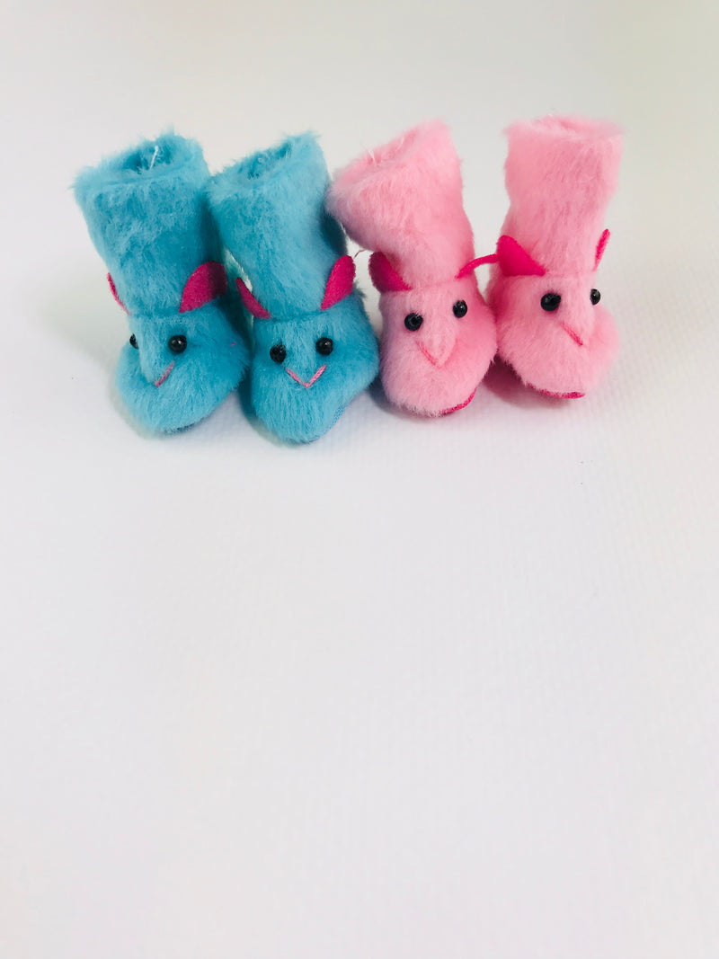 ANGELA Doll RABBIT PLUSH FELT BOOT  more colors