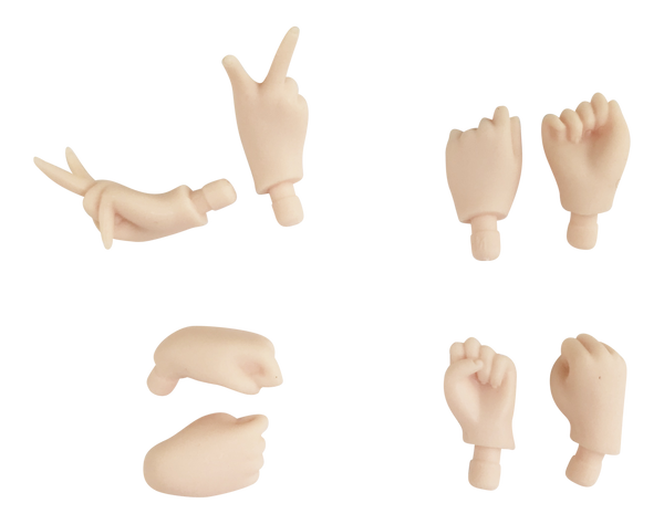 ANGELA Doll HAND SETS  - loose hands with different gestures