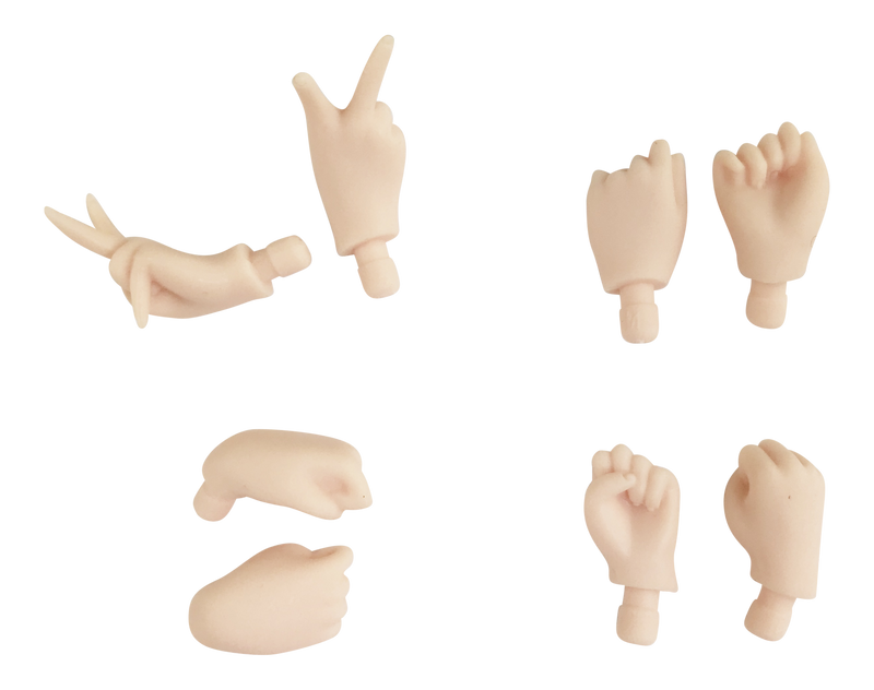ANGELA Doll HAND SETS - loose hands with different gestures-dolls-DOLLY by Le Petit Tom ®