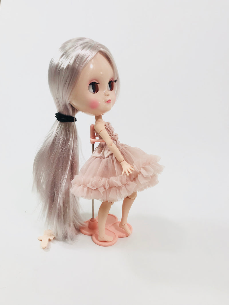 ANGELA Doll STAND 17,5 cm. ( suitable for Angela, Blythe dolls)-dolls-DOLLY by Le Petit Tom ®