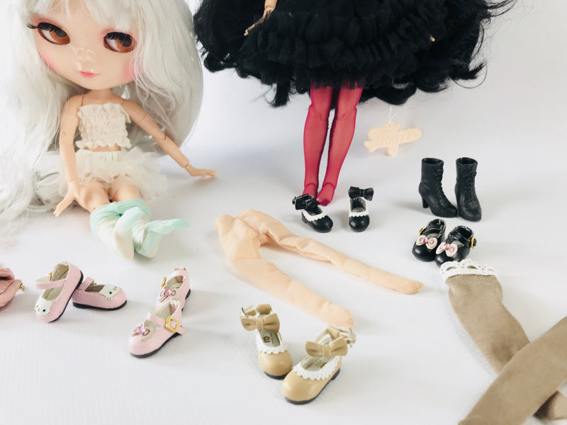 ANGELA Doll KITTY MARY JANES SHOES blue