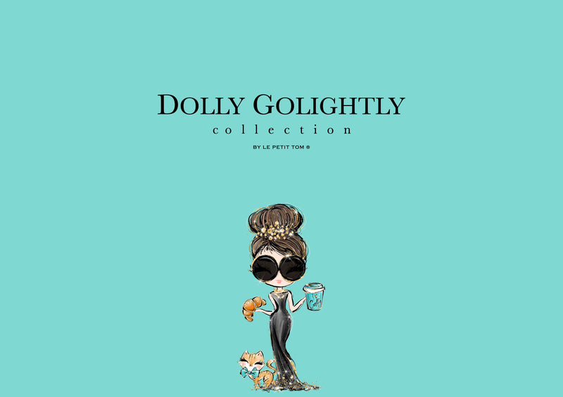[ OUTLET] DOLLY GOLIGHTLY PUZZLE IN TIN 1000pcs Tiffany blue