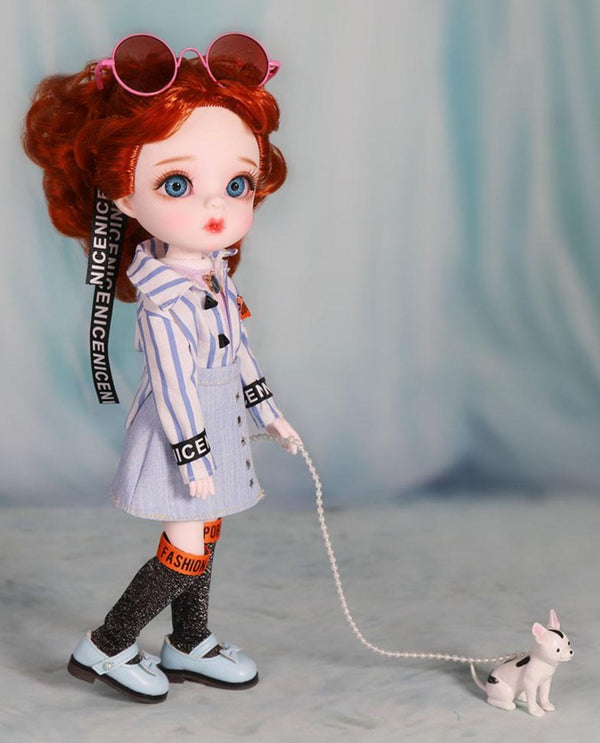 LUCKY Doll BJD doll 'FRANCES' fashion doll 30cm