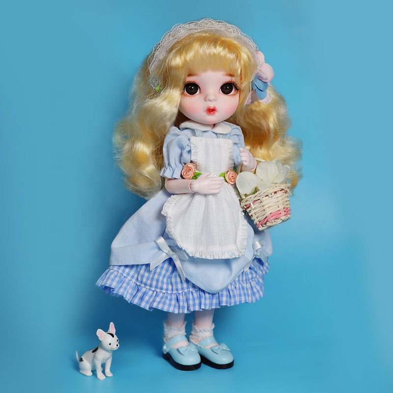 LUCKY Doll BJD doll 'BONNIE' fashion doll 30cm