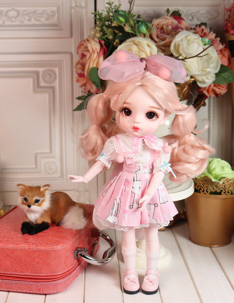 LUCKY Doll BJD doll 'CLARA' fashion doll 30cm