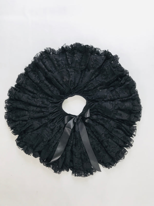 DOLLY by Le Petit Tom ® LACY PETTISKIRT black