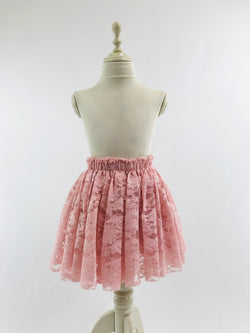 DOLLY by Le Petit Tom ® LACY SHORT TUTU pink
