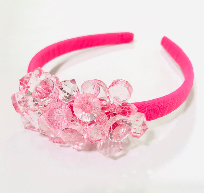 [ OUTLET] DOLLY GOLIGHTLY Breakfast @ Tiffany's PINK HEADBAND