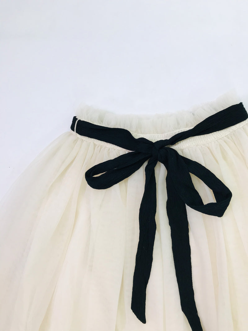 DOLLY GOLIGHTLY TUTU WITH STRING TIE I ♥coffee