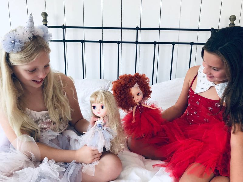 [ OUTLET] ANGELA Doll clothing DOLLY's 'Beauties & Beasts' ANNIE TUTU DRESS