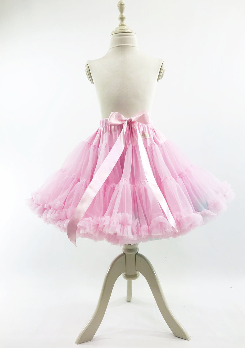 DOLLY by Le Petit Tom ® UNICORN pettiskirt baby pink with turquoise