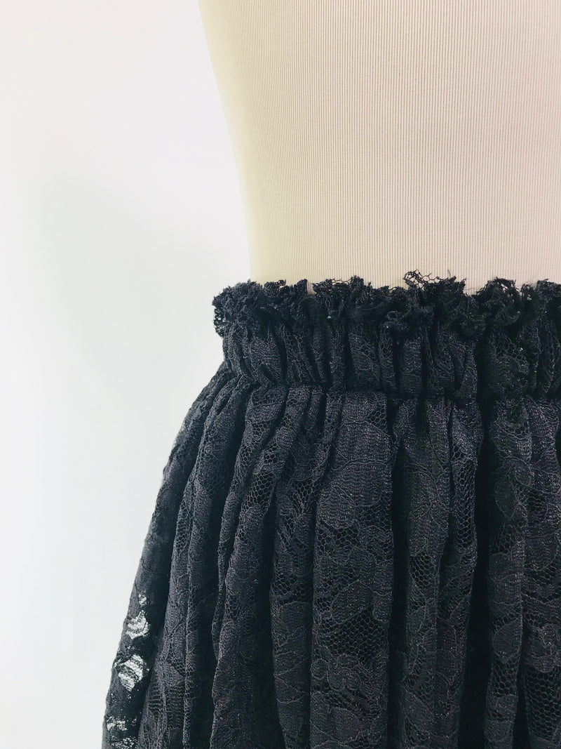 DOLLY by Le Petit Tom ® LACY LONG TUTU black