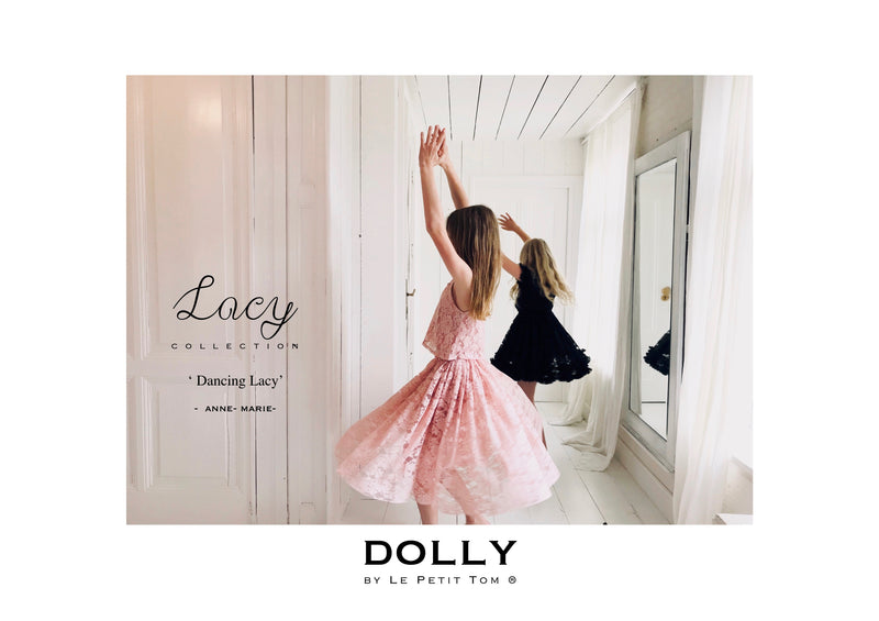 DOLLY by Le Petit Tom ® LACY LONG TUTU pink