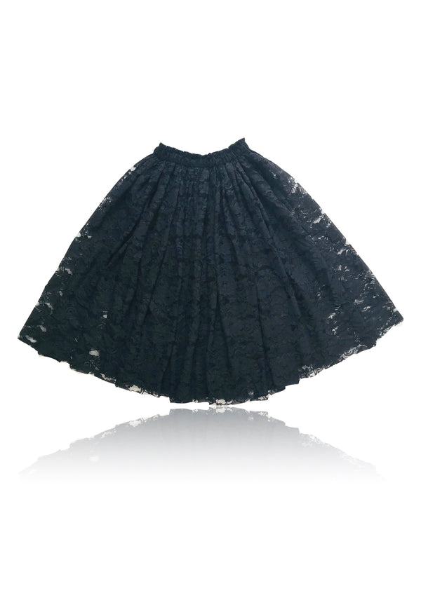 [OUTLET] DOLLY by Le Petit Tom ® LACY LONG TUTU black