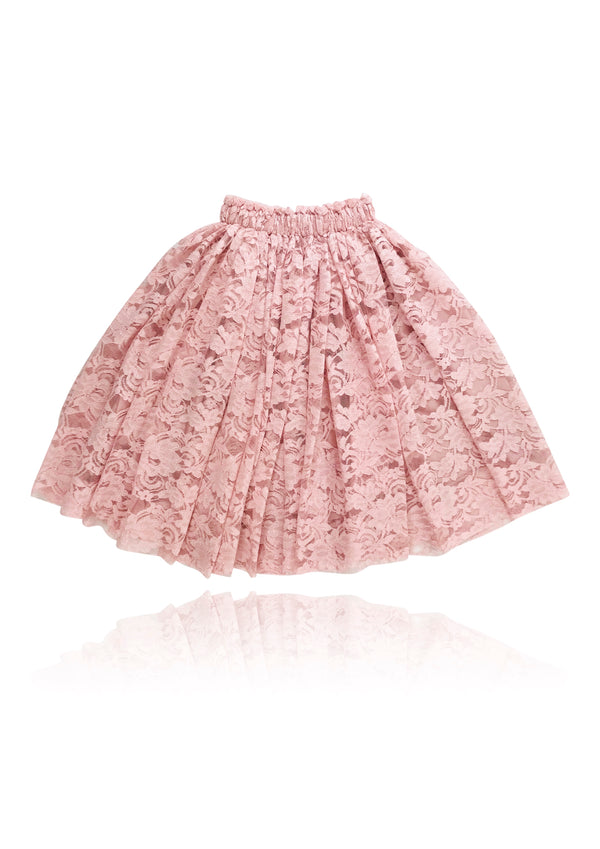 [OUTLET] DOLLY by Le Petit Tom ® LACY LONG TUTU pink