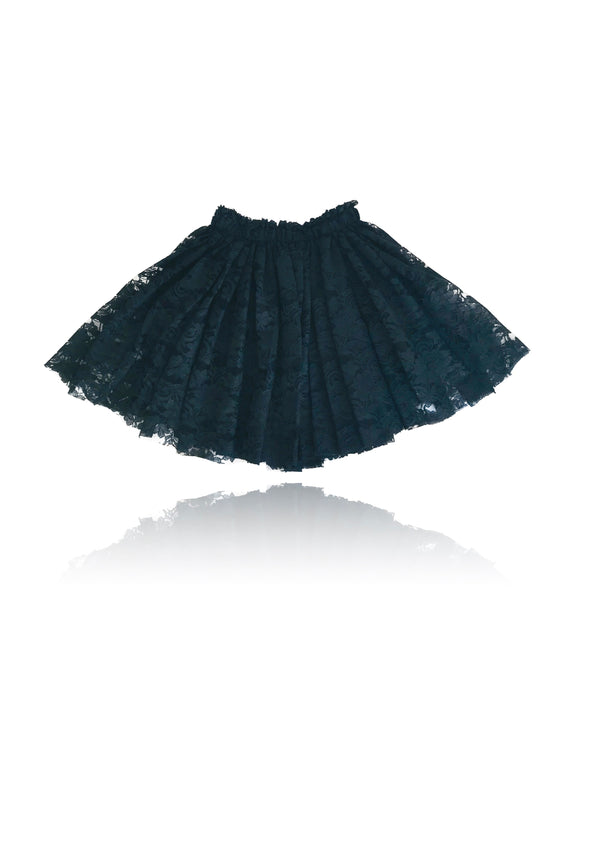 DOLLY by Le Petit Tom ® LACY SHORT TUTU black
