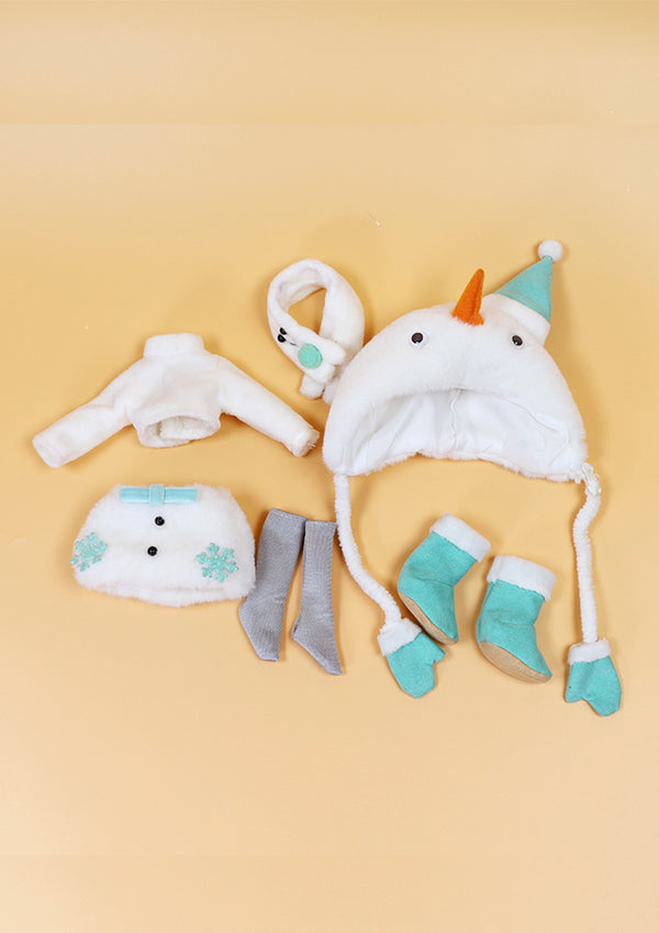 DOLL CLOTHING SET D03 for LUCKY Doll Bjd 1/6 snow suit