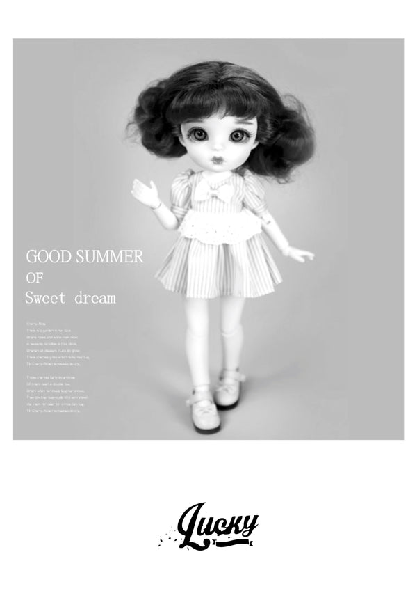 LUCKY Doll BJD doll 'LILLIAN' fashion doll 30cm