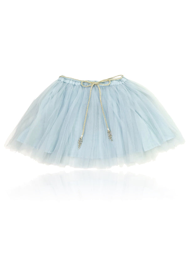 DOLLY by Le Petit Tom ® SIGNATURE SHORT TUTU light blue - DOLLY by Le Petit Tom ®