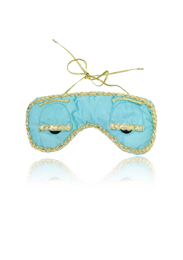[ OUTLET] DOLLY GOLIGHTLY Breakfast @ Tiffany's SLEEP MASK tiffany blue