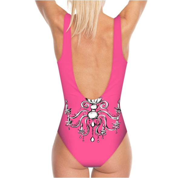 DOLLY GOLIGHTLY SWIMSUIT Golightly pink