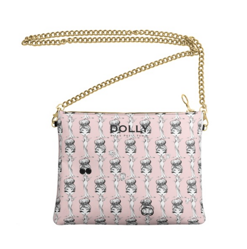 [MADE TO ORDER!] DOLLY GOLIGHTLY LEATHER CROSSBODY BAG ballet pink