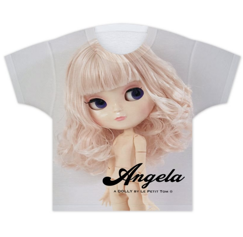 ANGELA DOLLY GIRLS T-SHIRT pink