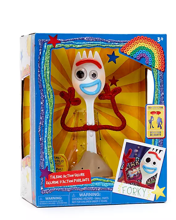 Toy Story 4 Forky Talking Action Figure pop - Interactive