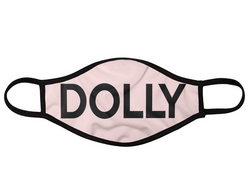 DOLLY FACE BREATHABLE FASHION FACE MASK MOUTH CAP ( Set of 4 or loose)