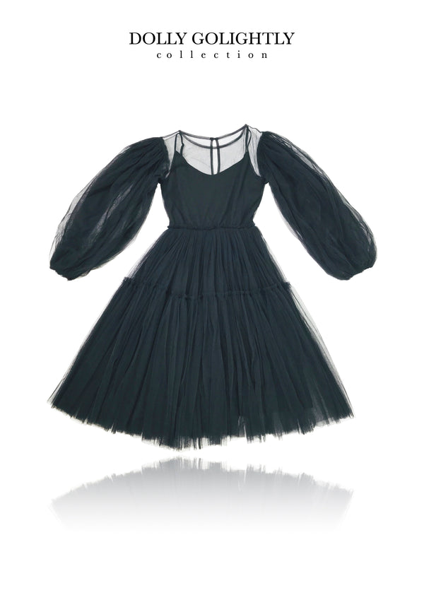 [ OUTLET] DOLLY GOLIGHTLY TEA TUTU DRESS black