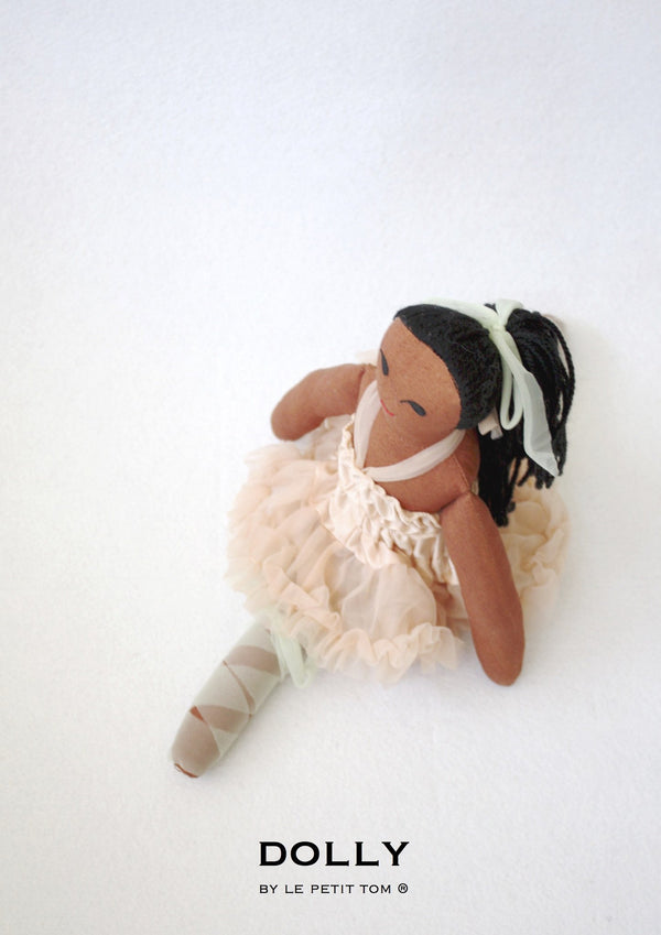 DOLLY by Le Petit Tom ® TIANA DOLL pale apricot - DOLLY by Le Petit Tom ®