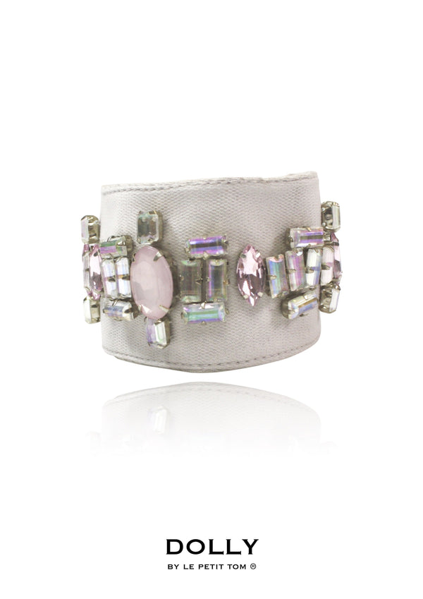 DOLLY by Le Petit Tom ® TITANIA wrist cuff ballet pink - DOLLY by Le Petit Tom ®