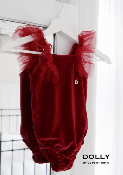 DOLLY by Le Petit Tom ® VELVET THE BODY red