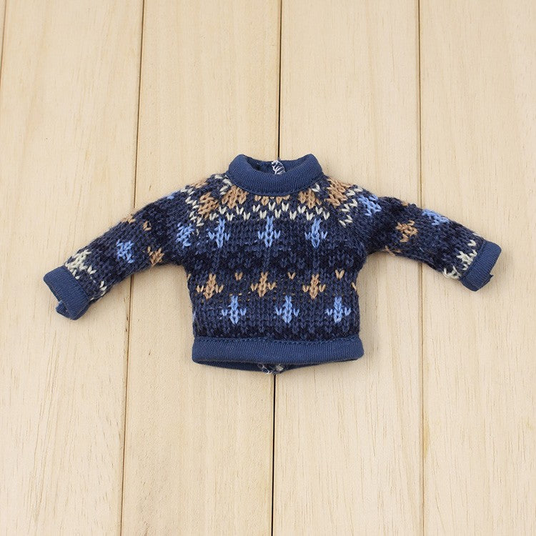 [ OUTLET] ANGELA Doll KNIT SWEATER HEARTS more colors